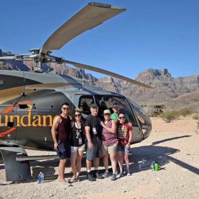 Helicopter Tour Grand Canyon with Champagne Landing