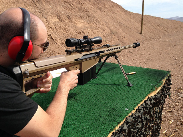 Outdoor Gun Range Adventure