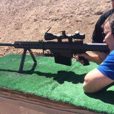 Shooting Range Machine Guns