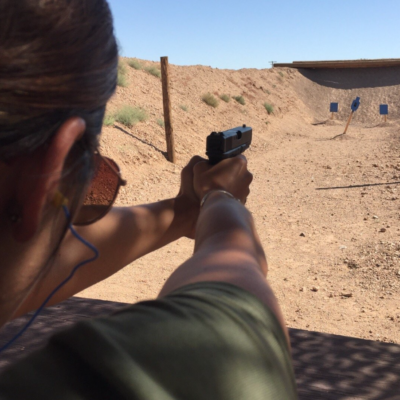 Glock 9mm Shooting