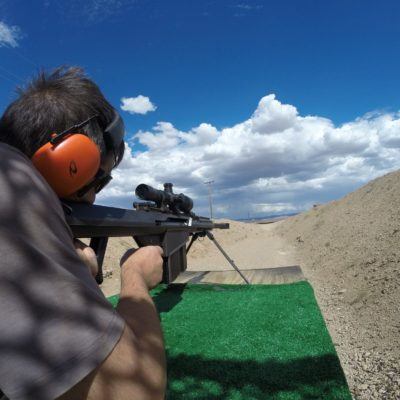 Barrett Sniper Rifle Shooting Range