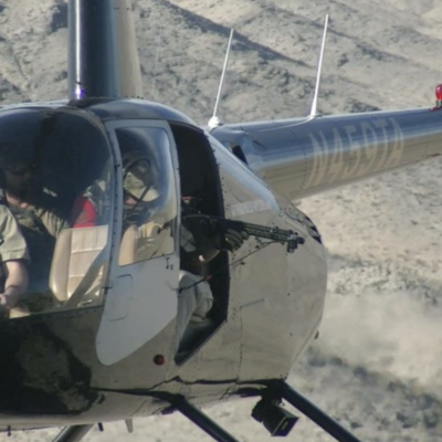 Shooting From a Helicopter