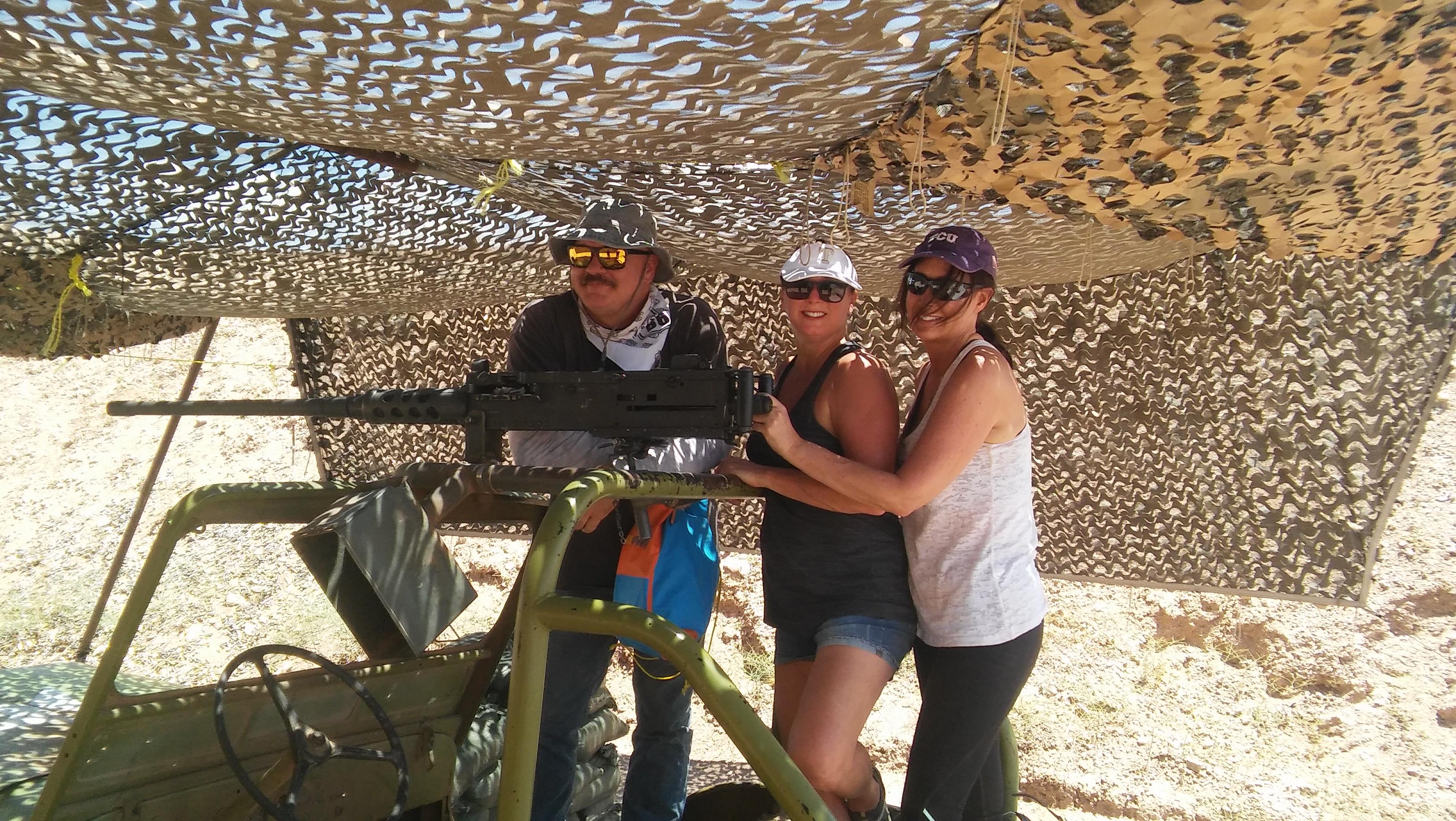 Shoot Machine Guns Las Vegas