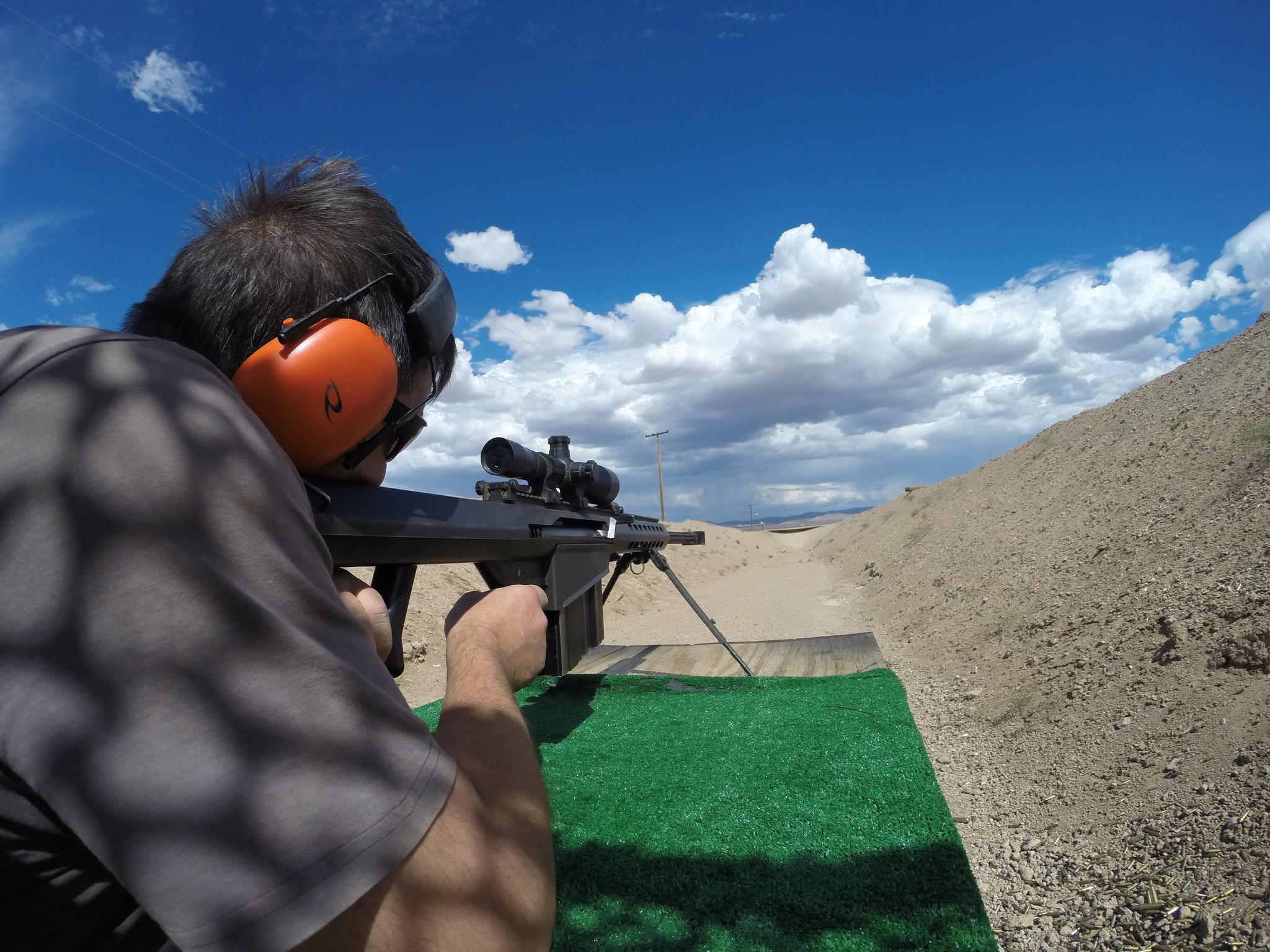 Gun Range Adventure Las Vegas