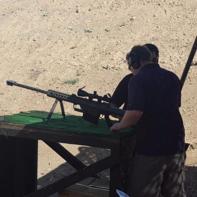 Shooting Adventure Mojave Desert