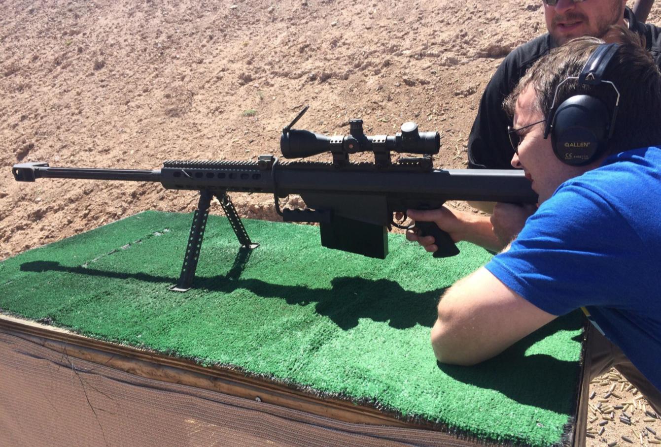 Shooting Range Machine Guns