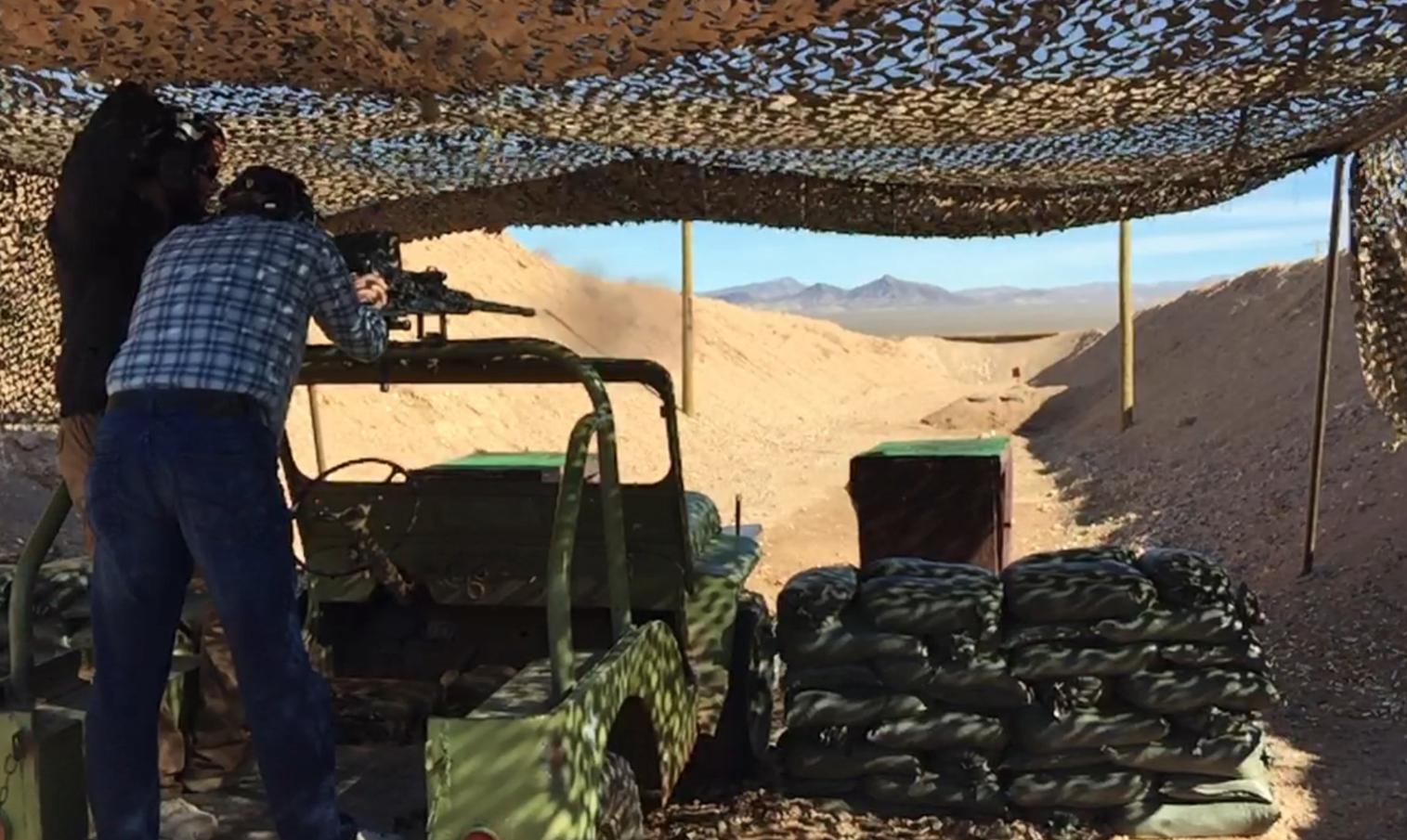Shoot Full Automatic Machine Guns