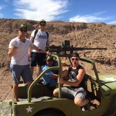 M2 Battle Jeep Shooting Las Vegas