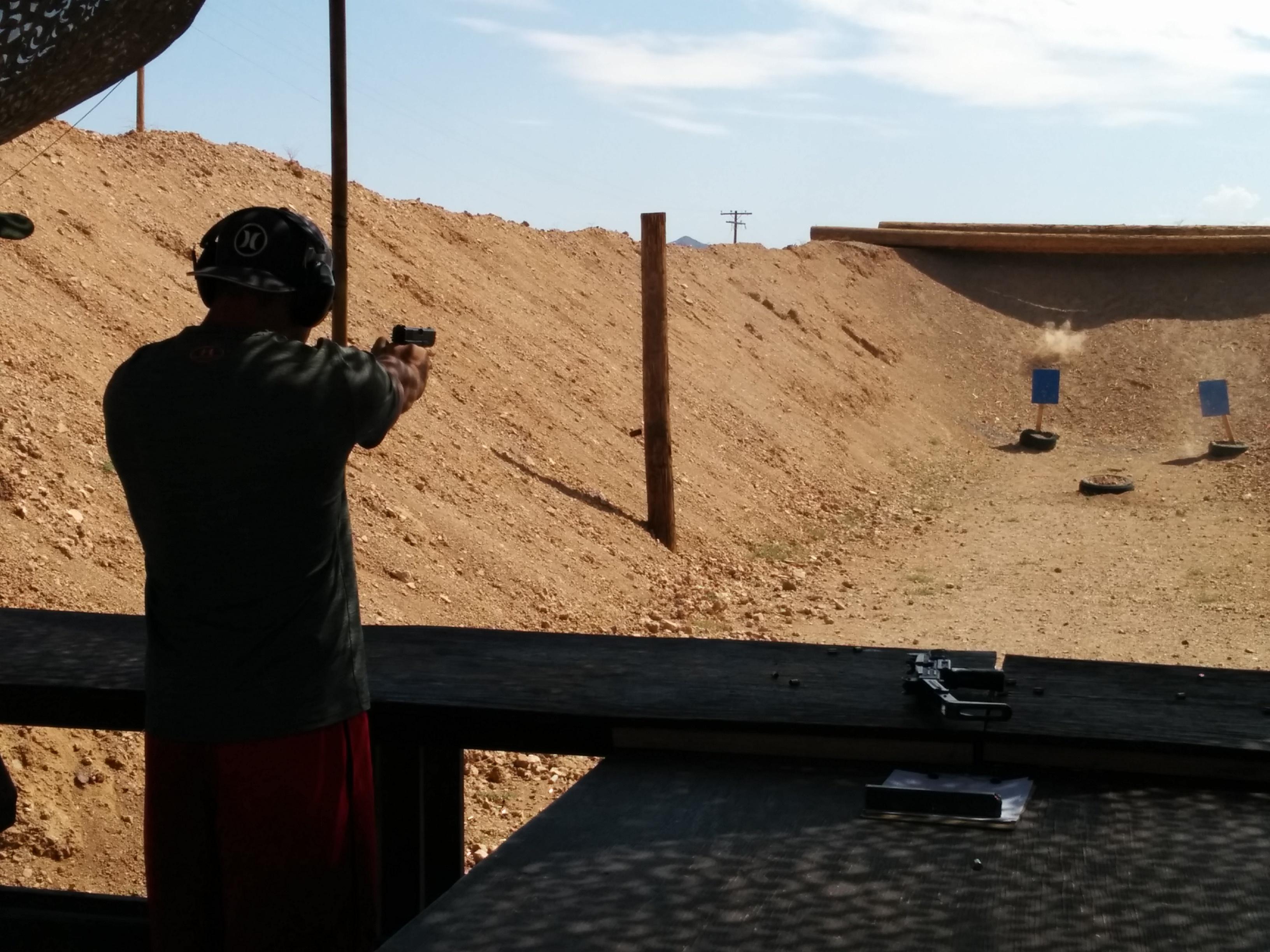 Outdoor Shooting Adventure Las Vegas