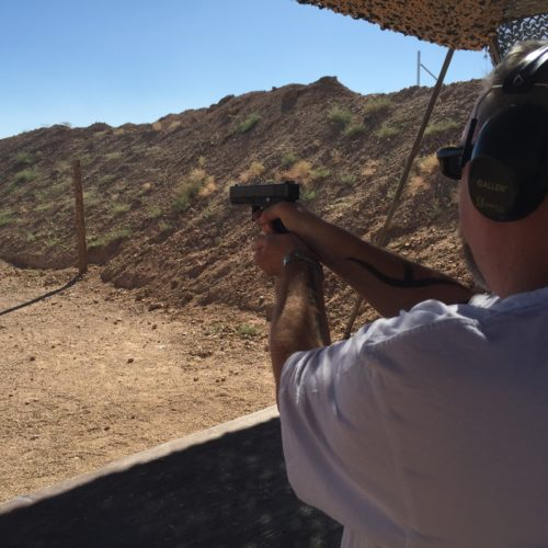 Shooting Outdoor Experience
