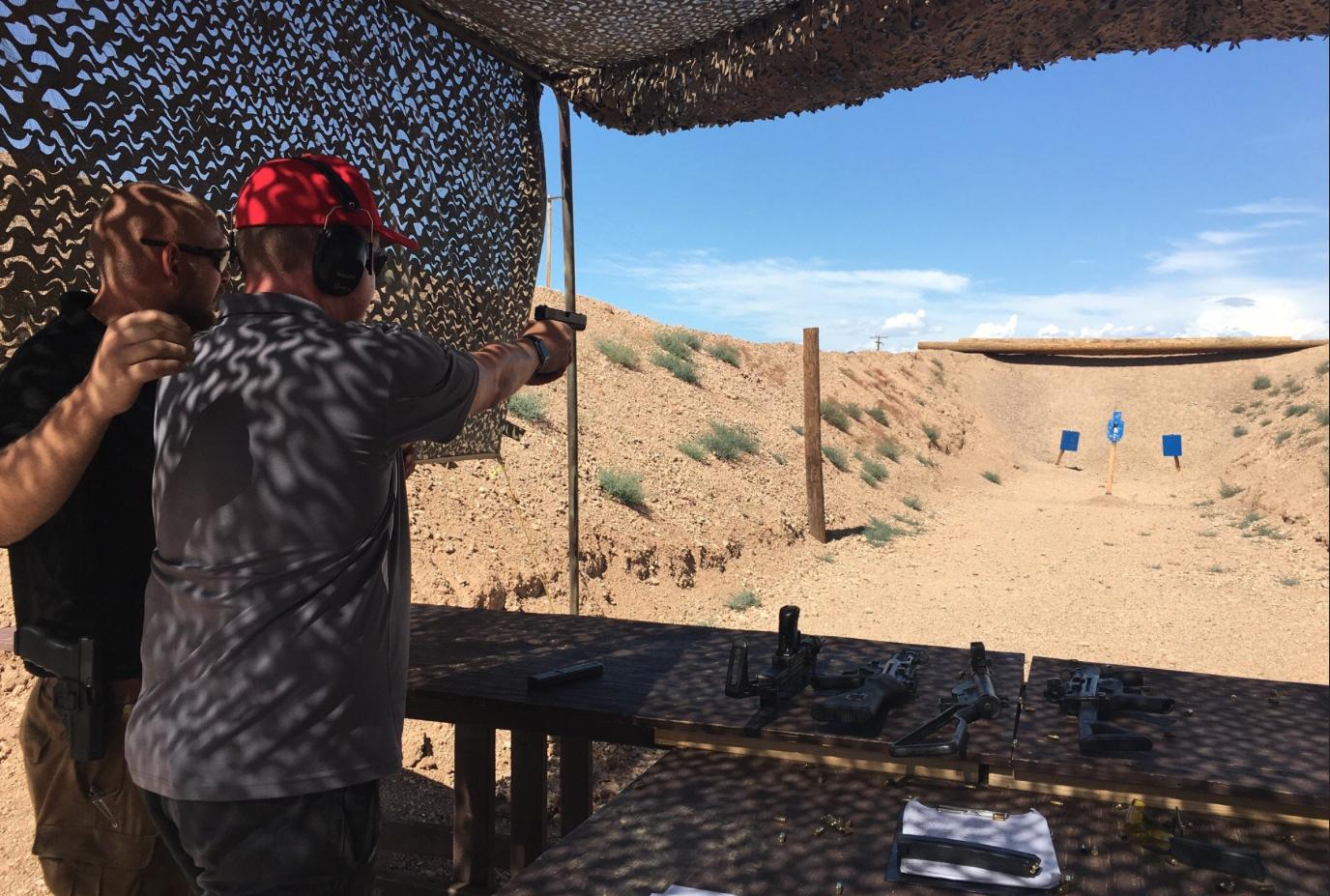 Shooting Tour Las Vegas