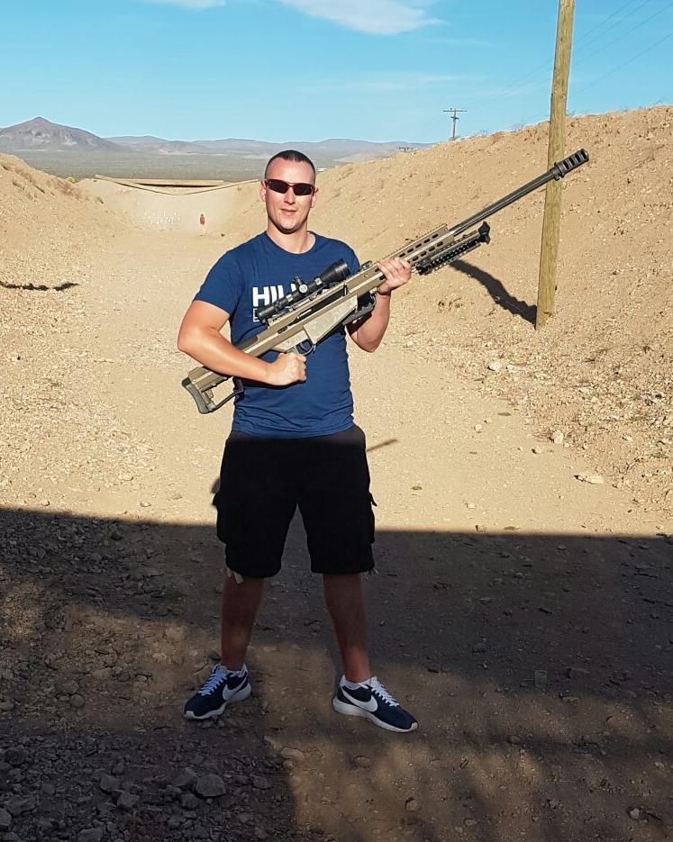 .50 Cal Barrett Sniper Rifle