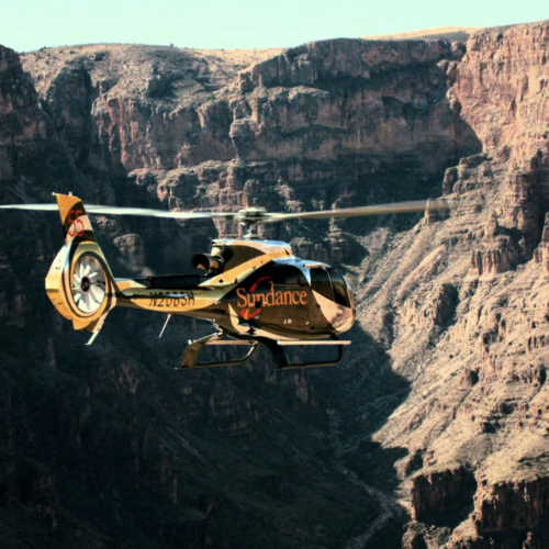 Grand Canyon Helicopter Champagne Landing Tour