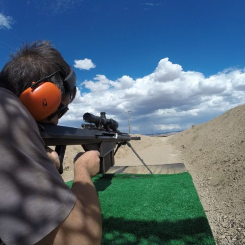 Barrett Sniper Rifle Shooting Range